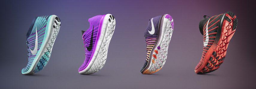 N'arrêtez jamais avec la gamme Nike Free…