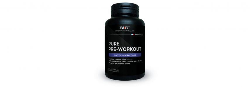 Eafit présente le booster énergétique Pure Pre Workout