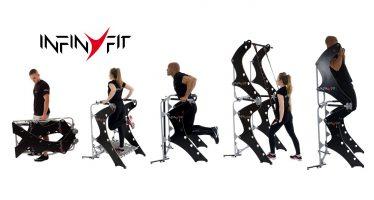 InfinyFit  : appareil de musculation au poids du corps compact