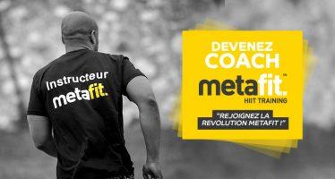 Devenez coach Metafit !