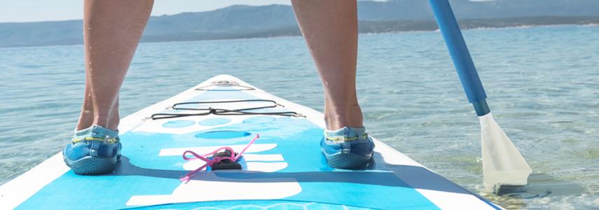 Le coup de cœur de cet été : le stand up paddle