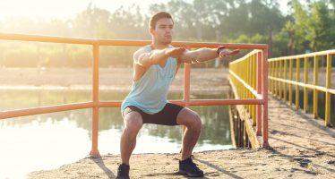 Le squat poids de corps