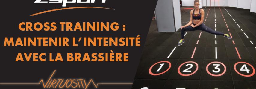 Zsport Cross Training : Maintenir l'intensité avec la brassière…