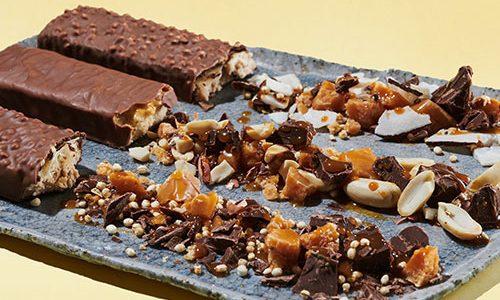 Foodspring lance des nouvelle barres chocolatées protéinées…