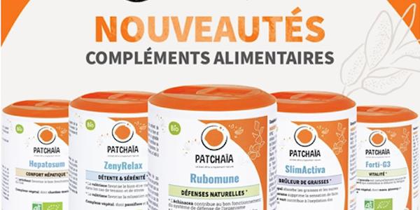 PATCHAÏA : Une nouvelle marque de compléments alimentaires !