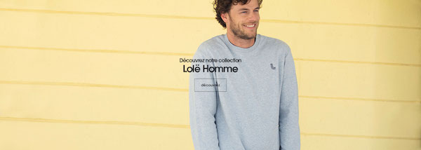 Lolë : Première collection pour Homme !
