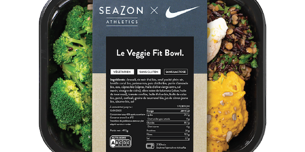 Seazon Athletics lance le Veggie Fit Bowl en collaboration avec Nike Training.