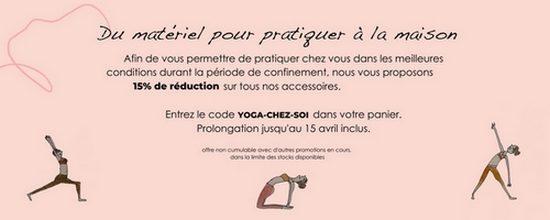 Yoga Searcher, s'équiper pour pratiquer à la maison !