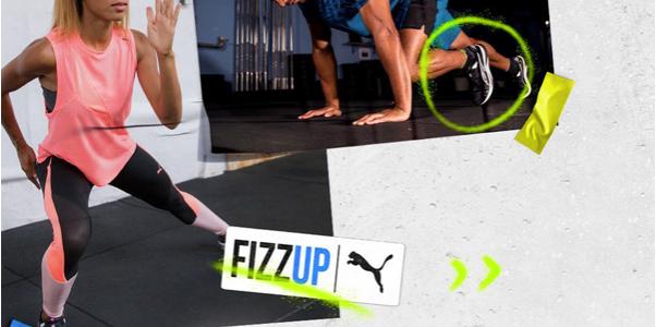 FizzUp lance son avec PUMA son offre training et fitness !