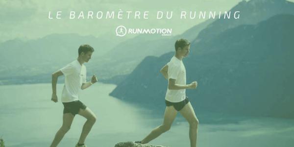 RunMotion Coach dévoile le Baromètre du Running