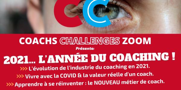 CC Zoom 16/12/14h30 : 2021, l'année du coaching… Dernières places !