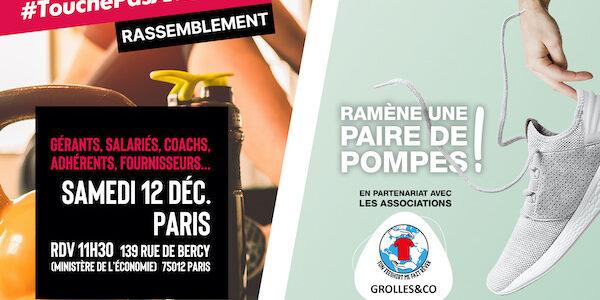 Clubs de fitness, coachs et amoureux du sport… Tous unis le 12 décembre prochain !