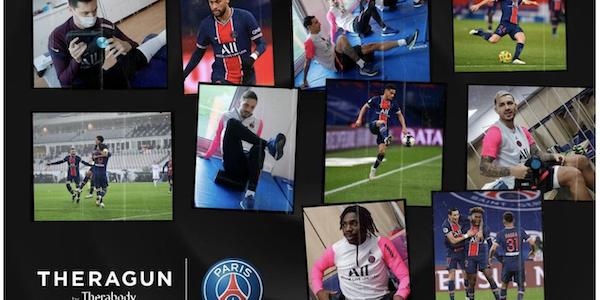Le Paris Saint-Germain choisit Therabody…