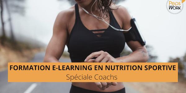 Formation en NUTRITION SPORTIVE pour les COACHS
