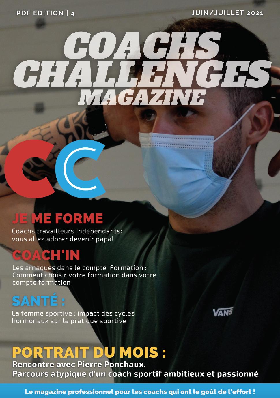 Coachs Challenges n°32 – Mai/juin 2021