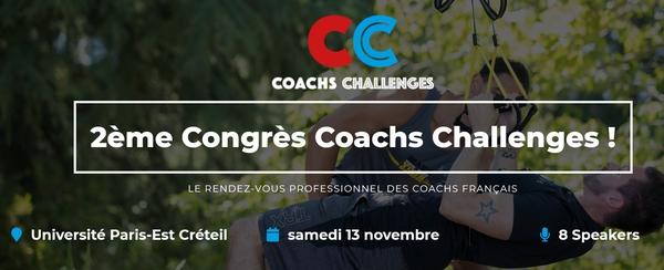 Congrès Coachs Challenges… Le programme en ligne !